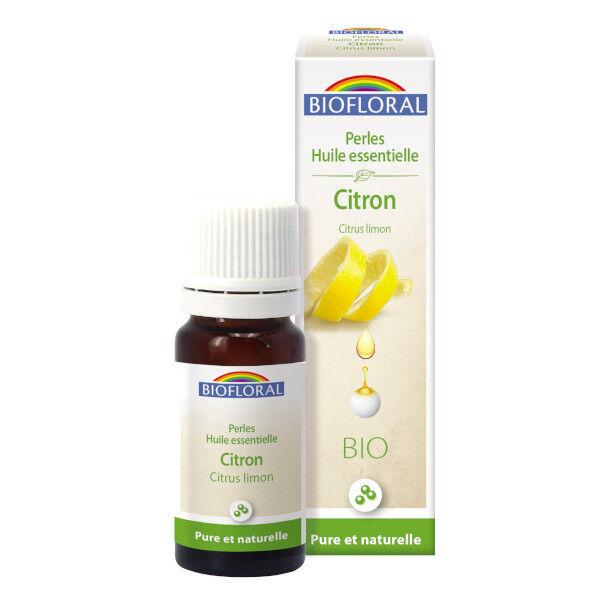 Biofloral Perles Huile Essentielle Citron Bio 20ml