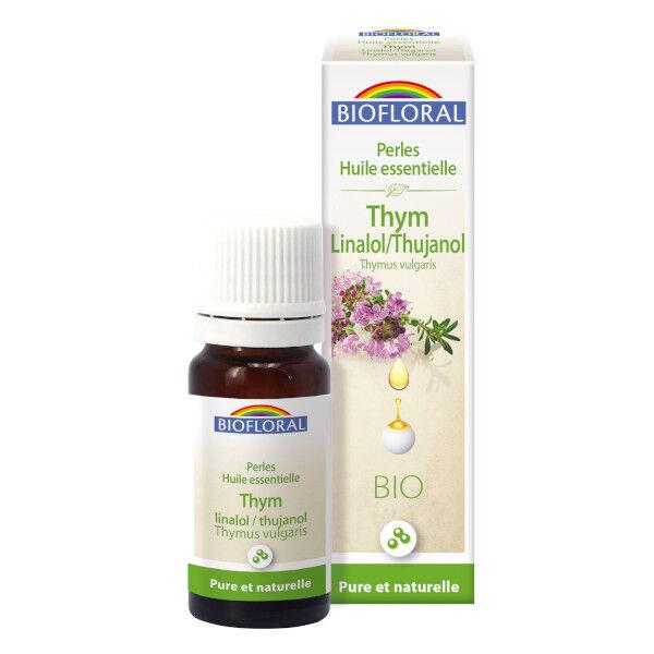 Biofloral Perles Huile Essentielle Thym Linalol / Thujanol Bio 20ml