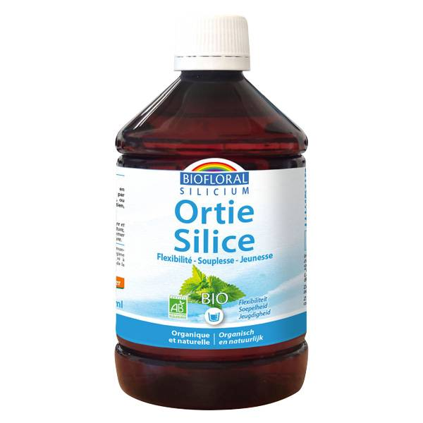 Biofloral Ortie-Silice solution buvable 500ml