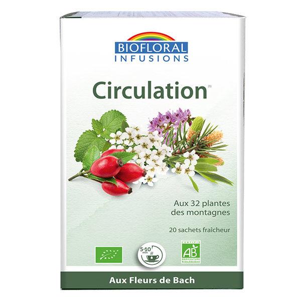 Biofloral Infusion Fleurs de Bach Circulation 20 sachets