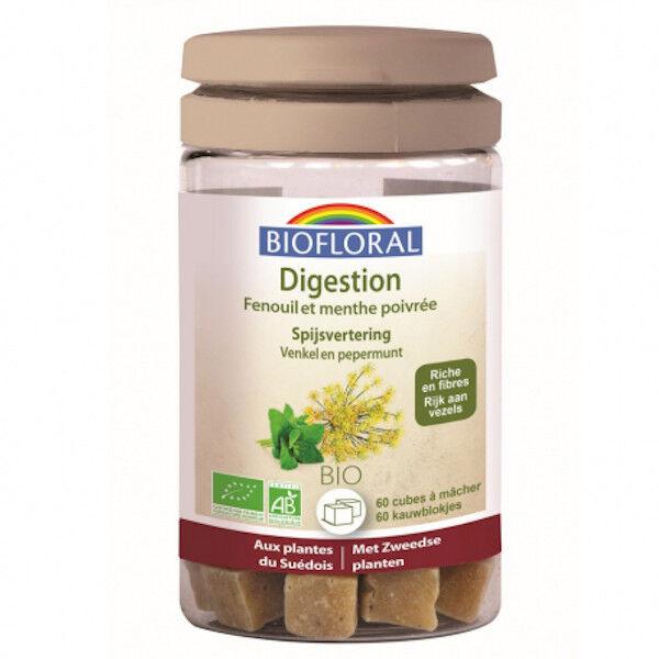 Biofloral Digestion Cubes à Mâcher Bio 60 unités