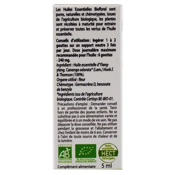 Biofloral Huile Essentielle Ylang-Ylang Totum Bio 5ml