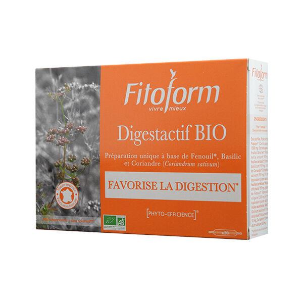 Fitoform Digestactif Bio 20 ampoules