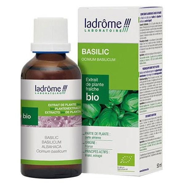 Ladrôme Extraits de Plantes Fraîches Basilic Bio 50ml