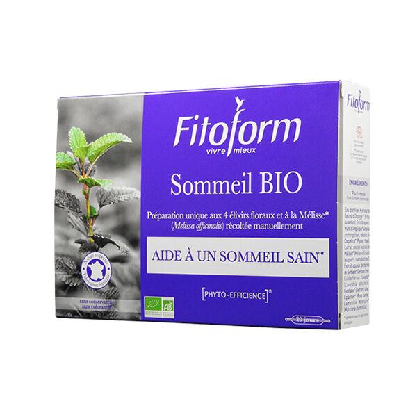 Fitoform Sommeil Bio 20 ampoules