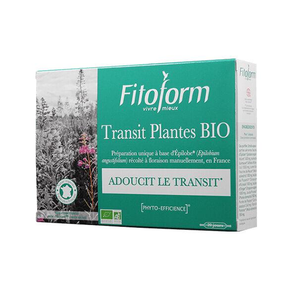 Fitoform Transit Plantes Bio 20 ampoules