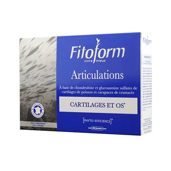 Fitoform Articulations 20 ampoules