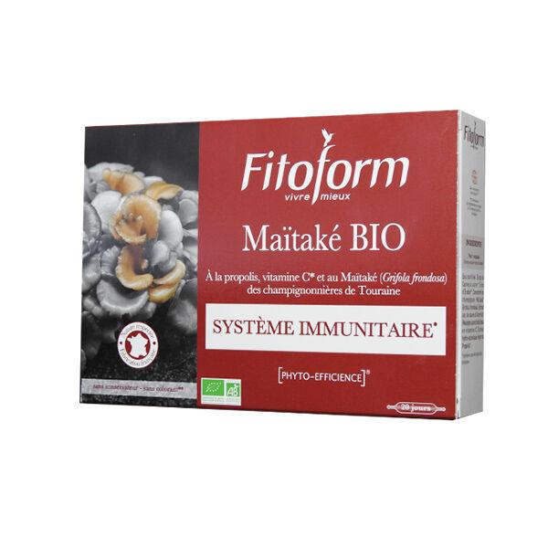 Fitoform MaÏtaké Bio Ab Ecocert 20 ampoules
