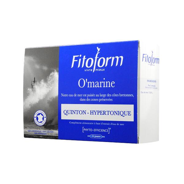 Fitoform O'Marine Quinton Hypertonique 30 ampoules