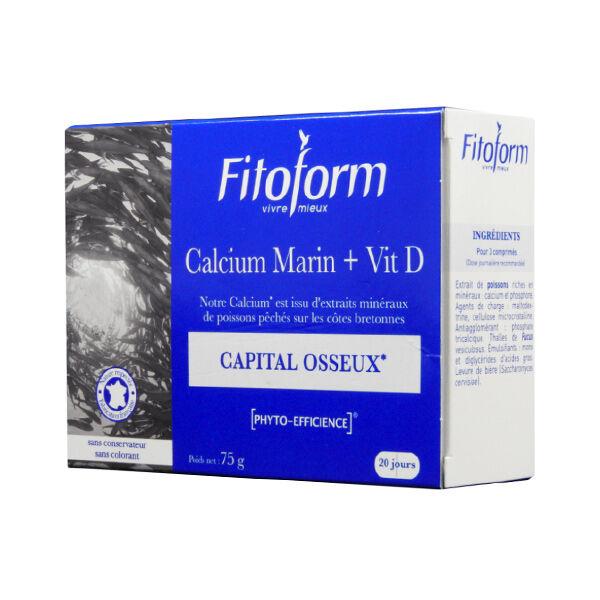 Fitoform Calcium Marin + Vit D 60 capsules