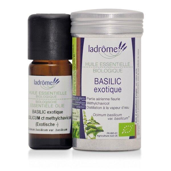 Ladrôme Huile Essentielle Basilic Exotique Bio 10ml