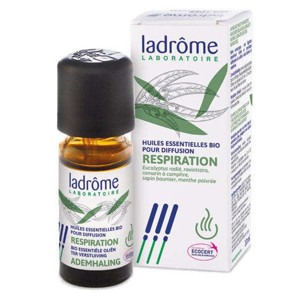 Ladrôme Huile Essentielle Diffusion Respiration Bio 10ml