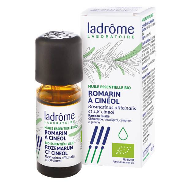 Ladrome Ladrôme Huile Essentielle Romarin à Cinéol Bio 10ml