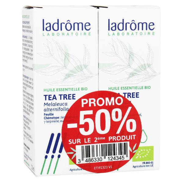 Ladrôme Huile Essentielle Tea Tree Bio lot de 2 x 10ml