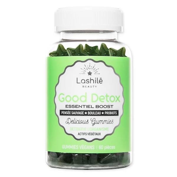 Lashilé Beauty Good Detox Essential Boost 60 gummies + Sac Offert