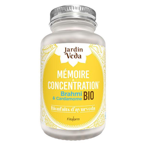 Jardin Veda Bienfaits d'Ayurveda Mémoire & Concentration Bio 60 gélules