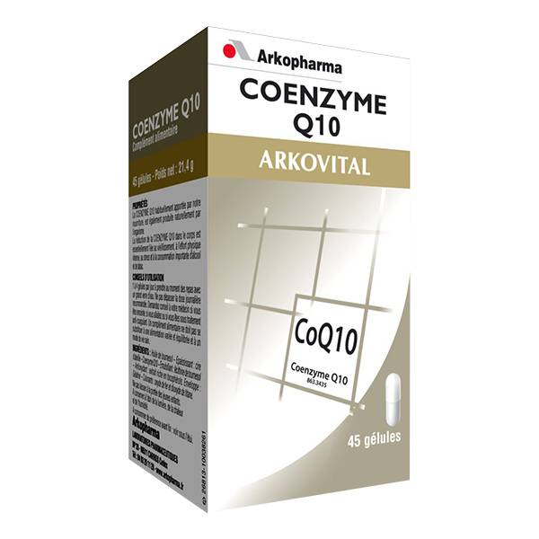 Arkopharma Arkovital Coenzyme Q10 45 gélules