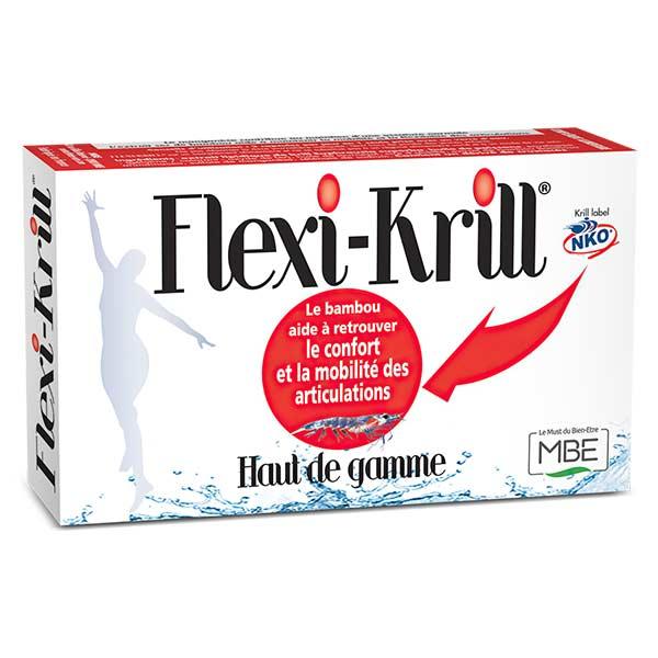 M.B.E Flexi-Krill 30 capsules