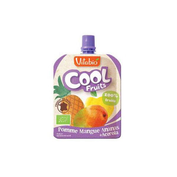 Vitabio Cool Fruits Pomme Mangue Ananas + Acérola 90g