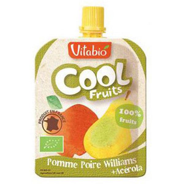 Vitabio Cool Fruits Pomme Poire + Acérola 90g