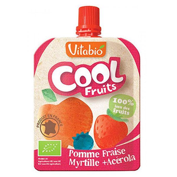 Vitabio Cool Fruits Pomme Fraise Myrtille + Acérola 90g