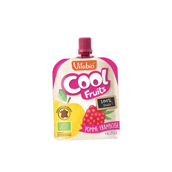 Vitabio Cool Fruits Pomme Framboise + Acérola 90g