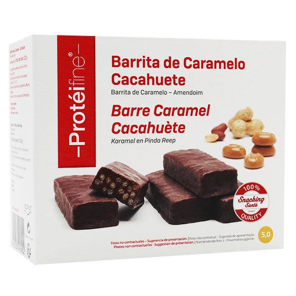 Inovance Protéifine Barres Caramel Cacahuète 220g