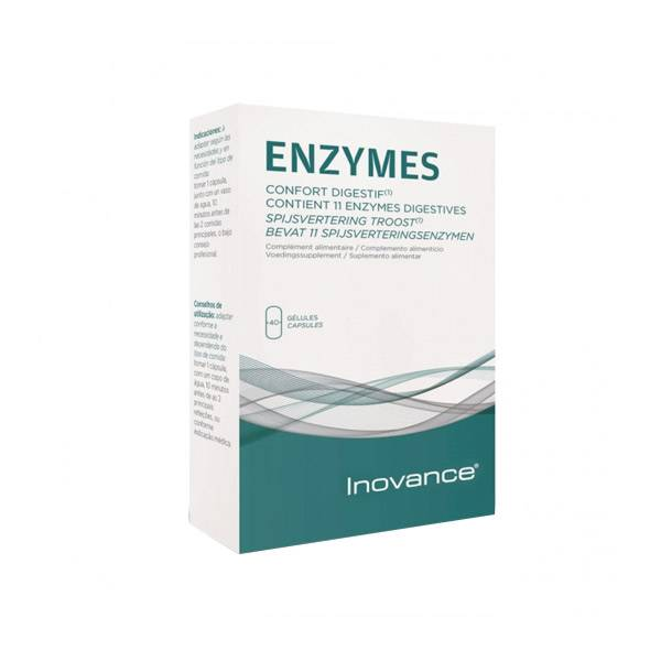 Inovance Enzymes 40 gélules