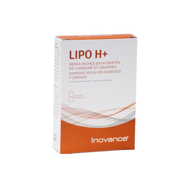 Inovance Lipo H+ 20 gélules