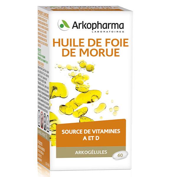 Arkopharma Arkogélules Huile de Foie de Morue 60 capsules