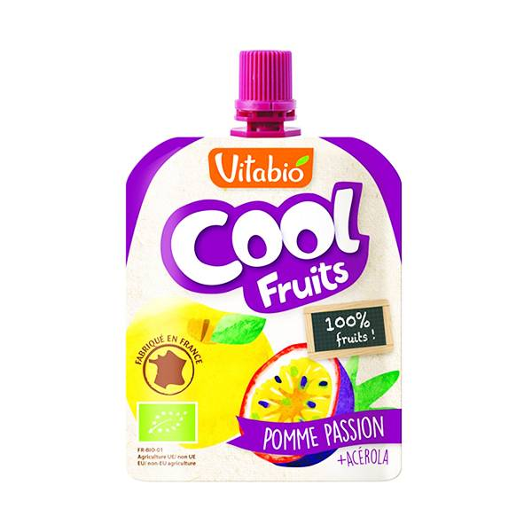 Vitabio Cool Fruits Pomme Passion + Acérola 90g