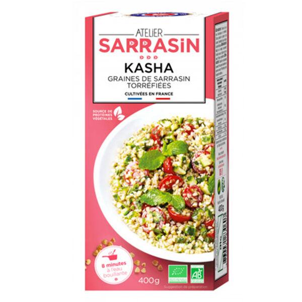 Atelier Sarrasin Kasha Graines de Sarrasin Torréfiées Bio 400g