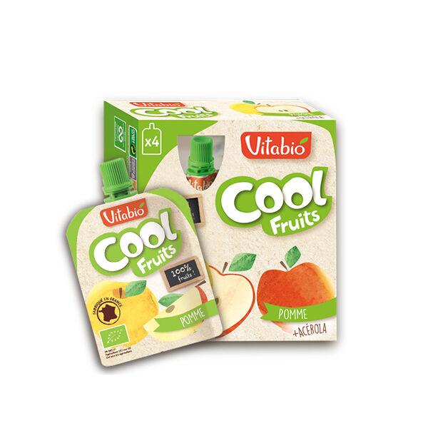 Vitabio Cool Fruits Pomme d'Aquitaine + Acérola 4 x 90g