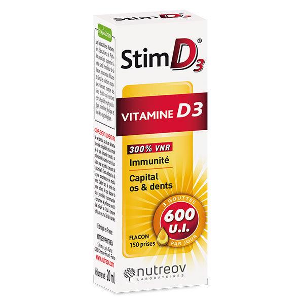 Nutreov Physcience Nutreov Stim D3 Vitamine D3 20ml