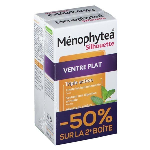 Phytea Ménophytea Silhouette Ventre Plat Triple Action Lot de 2 x 30 comprimés