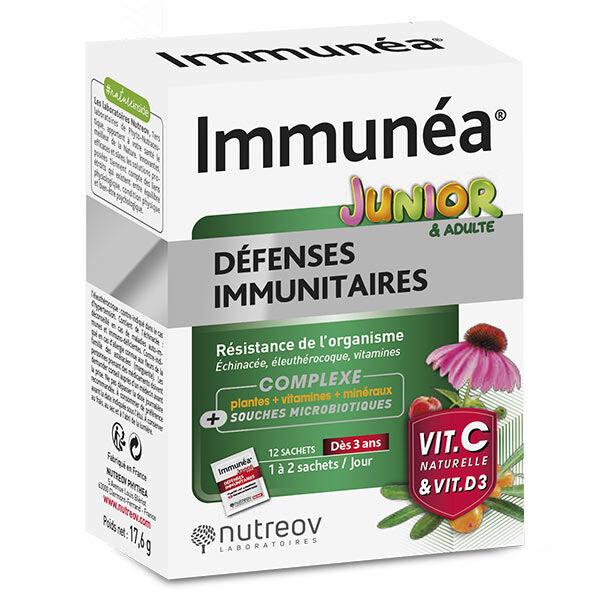 Phytea Nutreov Immunéa Junior Défenses Immunitaires 12 sachets