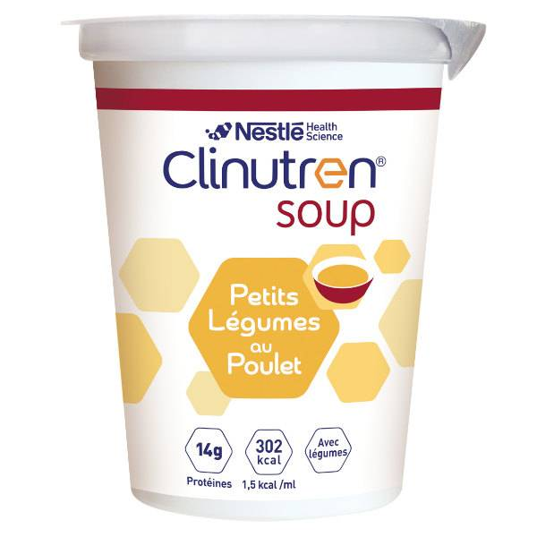 Clinutren Soup Poulet Petits Légumes 4 x 200ml
