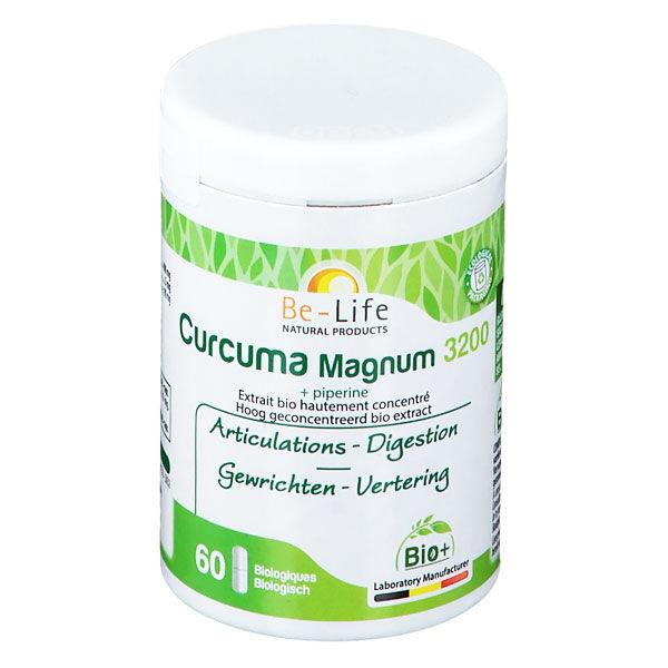 Be Life Be-Life Curcuma Magnum 3200 + Piperine Bio 60 gélules