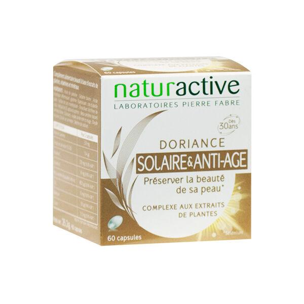 Naturactive Doriance Solaire et Anti-Age 60 capsules