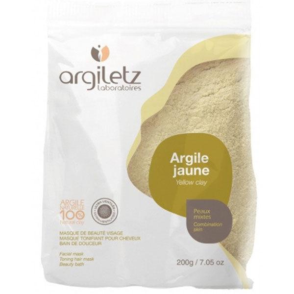 Argiletz Argile de Couleur Argile Jaune Ultra Ventilée 200g