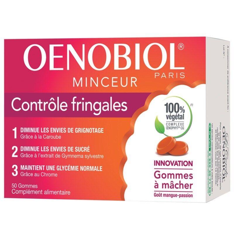 Oenobiol Contrôle Fringales 50 gommes