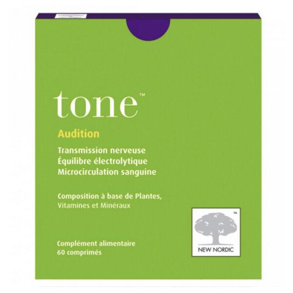 New Nordic Audition Tone 60 comprimés