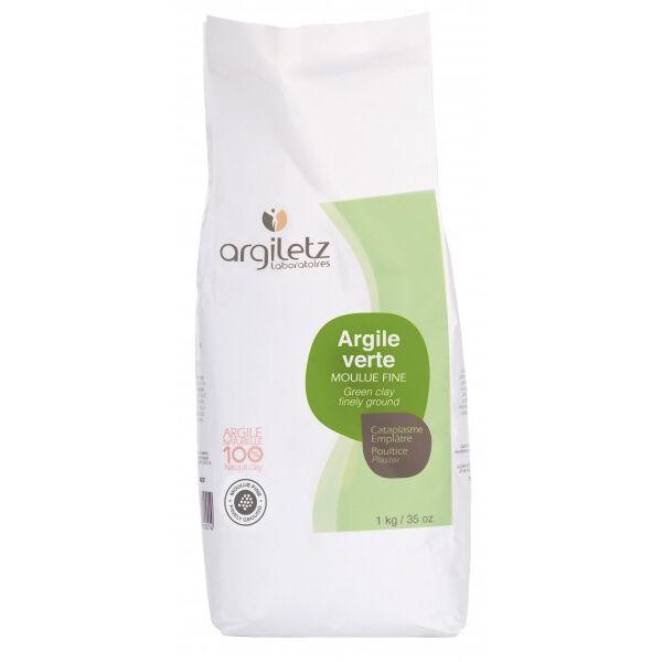 Argiletz Argile Verte Moulue Fine 1kg