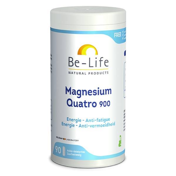Be Life Be-Life Magnésium Quatro 900 90 gélules