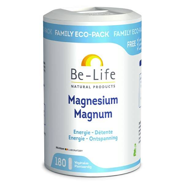 Be Life Be-Life Magnésium Magnum 180 gélules