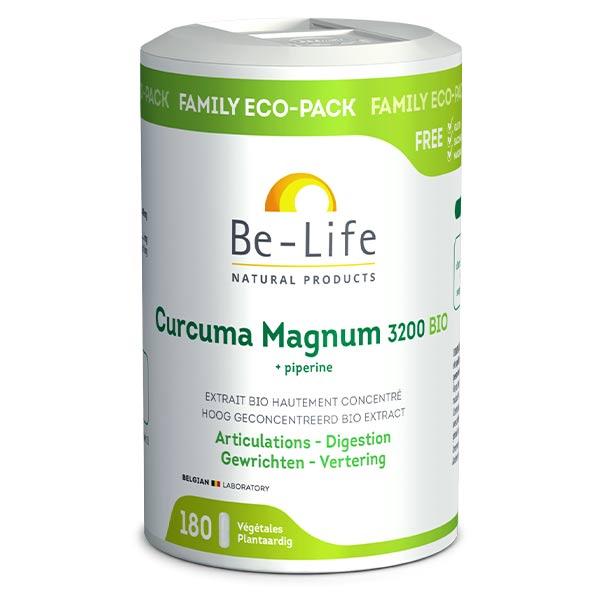 Be Life Be-Life Curcuma Magnum 3200 + Piperine Bio 180 gélules