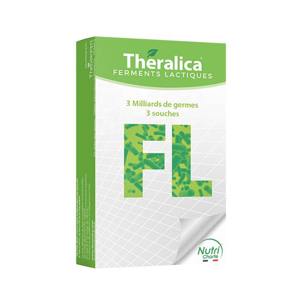 Theragreen Theralica FL ferments lactiques 30 gélules