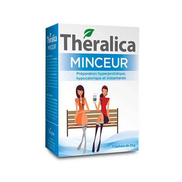 Theralica Minceur Soupe poulet curry 7 sachets