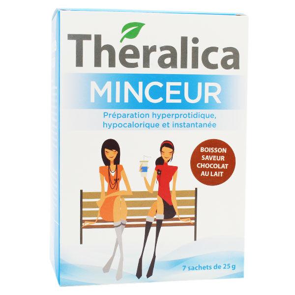 Théragreen Theralica Minceur Boisson chocolat au lait 7 sachets