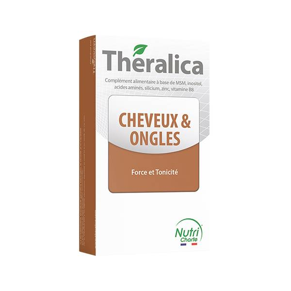 Théragreen Theragreen Theralica Cheveux et Ongles 60 gélules